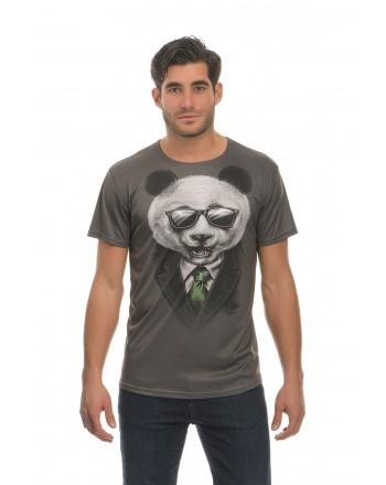 Γκρι Κοντομάνικο μπλουζάκι...