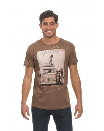 Καφέ Κοντομάνικο μπλουζάκι...