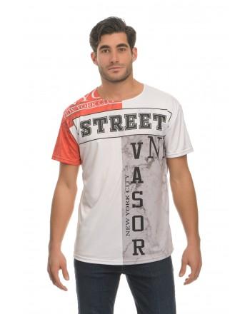 Κοντομάνικο μπλουζάκι - Street